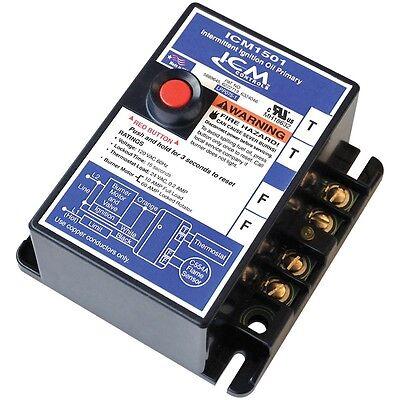 Icm Controls Icm1501 Intermittent Ignition Oil Burner Primary Control 15-second