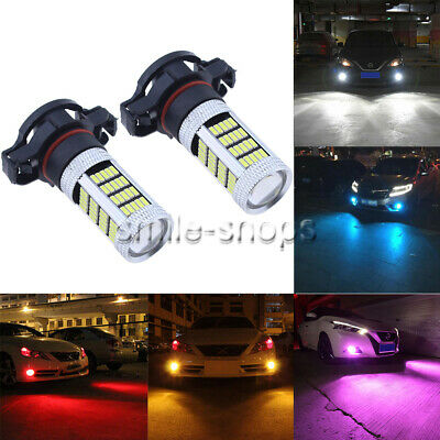 NEW 2Pcs 4014 Chip 92SMD LED Bulbs Conversion Kit Fog Lights Super High