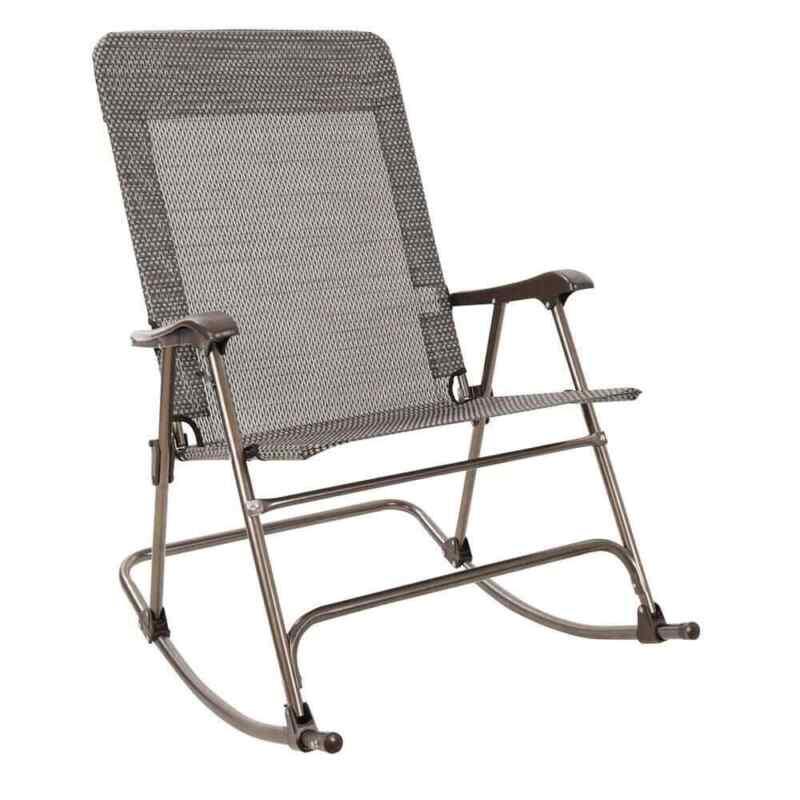 Venture Forward Wide Mesh Rocker Chair Tan