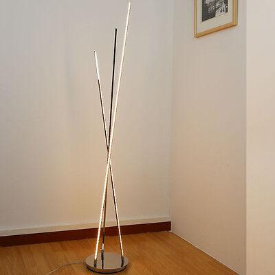 19W Warmweiß LED stehlampe Modern Stehleuchten Design leuchtmittel 1.5 m 9018/3L