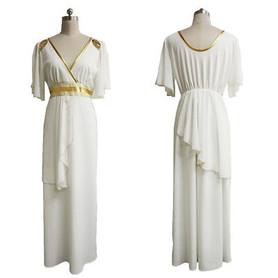 Greek Goddess Aphrodite Grecian Cosplay Costume Halloween Fancy Dress HC-064 - Goddess Cosplay Costumes
