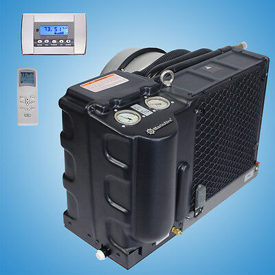 Marine air conditioner reverse cycle heating systems 14000 Btu 115V AC + Control Btu Reverse Cycle