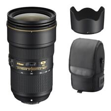 Nikon AF-S NIKKOR 24-70mm f/2.8E ED VR Lens for Camera Bodies