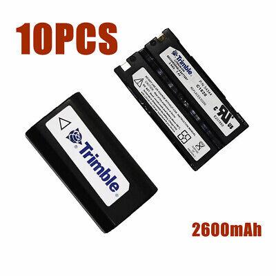 10 Pcs Trimble 2600mah Battery For Trimble 5700 5800 R7r8 Gps Battery