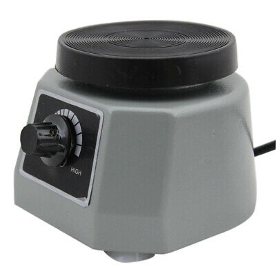 Dental Lab Vibrator Oscillator Shaker Round 4 Platform Round Variable Speed Us