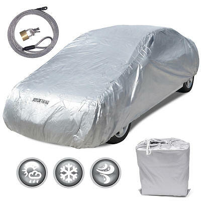 New Full Car Cover Deluxe All Weather UV Waterproof for Toyota Prius 2003 2015