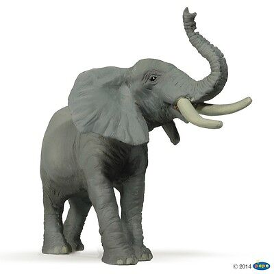 Trumpeting Elephant figure Papo: Wild Animal Kingdom - Model 50041