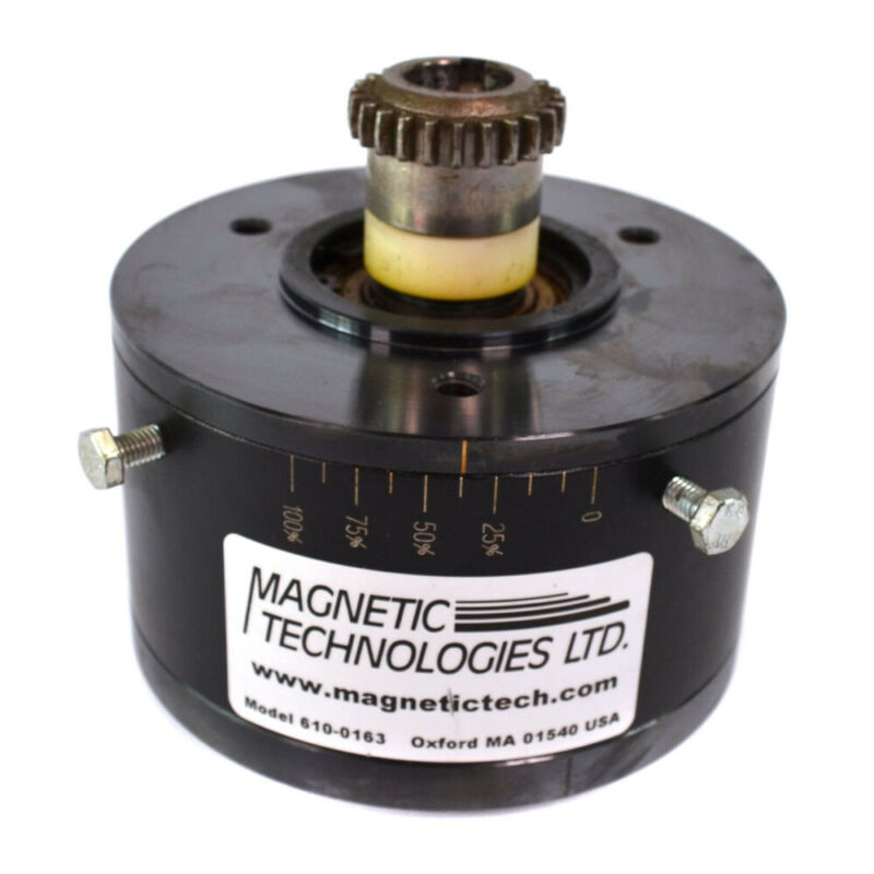 Magnetic Technologies 610-0163 Permanent Magnetic Hysteresis Clutch Brake