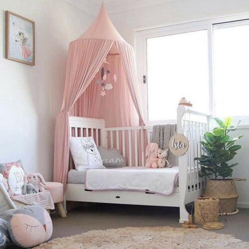 Canopy Netting Crib Bedcover Mosquito Net Dream Curtain Dome Tent Baby Bed Gift