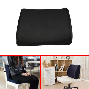 office chair back support. Plain Office Memory Foam Lumbar Back Support Cushion Waist Pillow For Office Home Car  Chair On