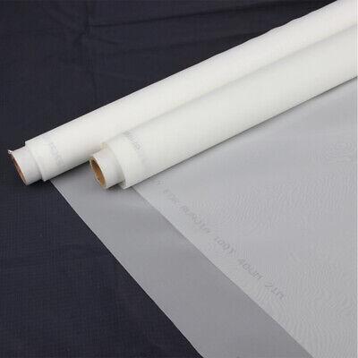 Screen Printing Mesh 110 Mesh 50inch1.27m Width 3yard2.7m Length White Silk