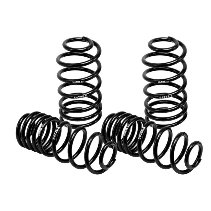 """For BMW Z3 96-02 H&R 29754 1.5"""" x 1.25"""" Sport Front & Rear Lowering Coil Springs"""