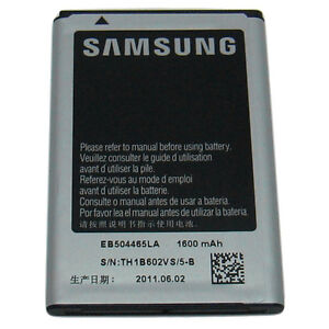 Samsung REPLENISH SPH-M580 SPHM580 1600mAh Cell Phone Battery Sprint EB504465LA