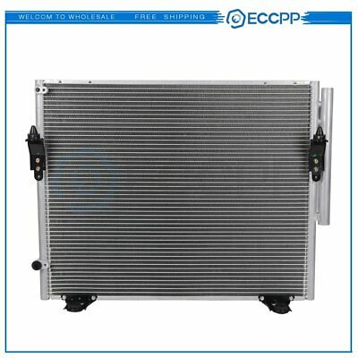 AC Condenser A/C Air Conditioning For Toyota Sequoia Tundra 08-15 Aluminum 3598