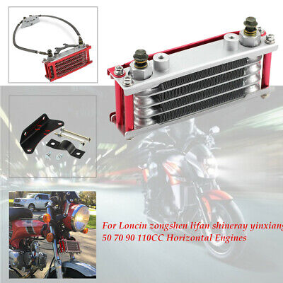 Oil Cooler Radiator For 50 70 90 110CC Dirt Pit Bike Racing Motorcycle Durable