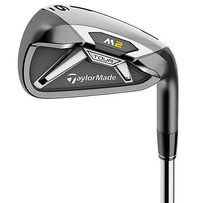 NEW TaylorMade M2 Tour 4-PW+AW Irons XP-95 Steel Stiff