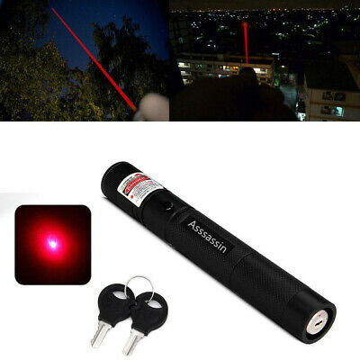 10Mile Astronomy Red Laser Pointer Pen Visible Beam Aluminium Portable Lazer Pen