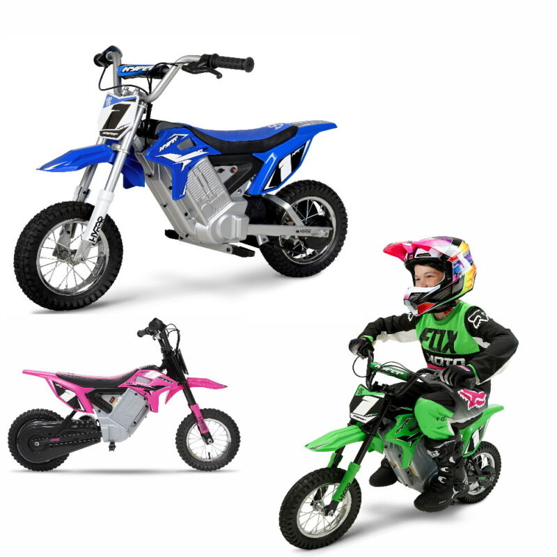 12 inch Dirt Bike Electric Motorcycle Kids Xmas Gift 24-volt