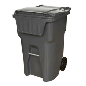 95 gallon garbage can on wheels