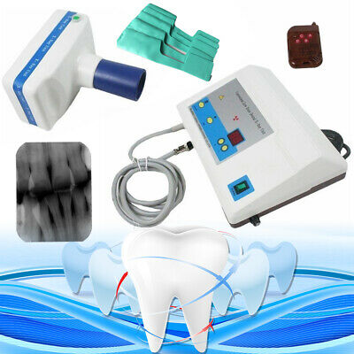 Dental X Ray Portable Mobile Film Imaging Machine Low Dose System Blx-5 Us Stock