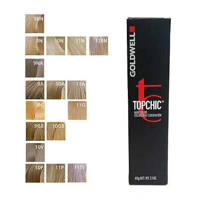 Goldwell Topchic Permanent Hair Color Tubes 9n Very