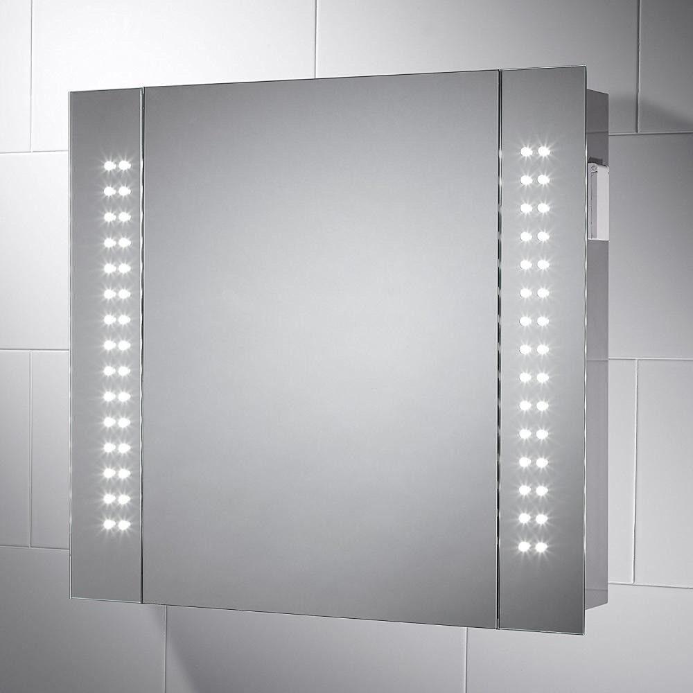Rowan LED Illuminated Bathroom Mirror Cabinet - 650 x 600 mm | in ...