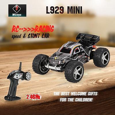 Professinal Original WLtoys L929 Mini 2.4Ghz 2CH Electric RTR RC Stunt Car W9D8