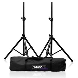 GORILLA SPEAKER STANDS BRAND NEW