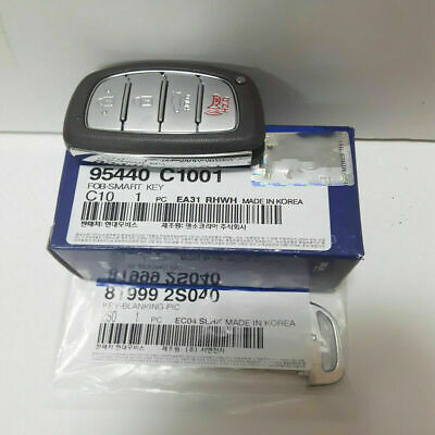 [Hyundai] OEM Keyless Entry Panic Smart Key Remote Immobilizer 2015-2017 Sonata