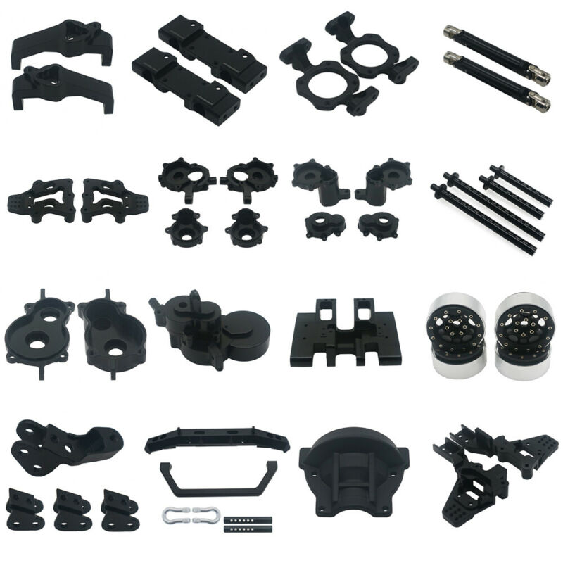 For redcat gen8 upgrades parts V2 Scout II 1/10 Scale Alloy RCAWD