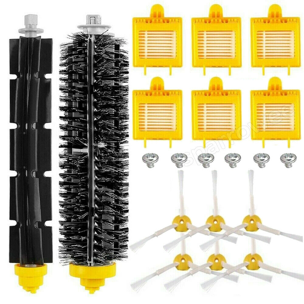 6PCS Replacement Brush Parts For iRobot Roomba 600 700 Series 760 770 780 790