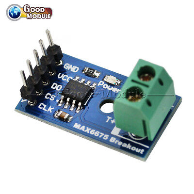 Type K Max6675 Spi Interface Thermocouple Temperature Sensor Module For Arduino
