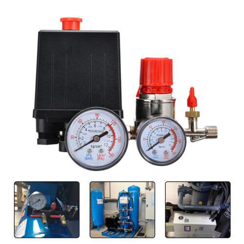 Air Compressor Pressure Switch Control Valve Manifold Regula