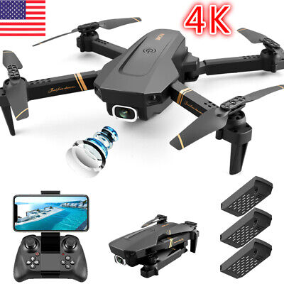 FPV Foldable Quadcopter Drone with Wifi HD 4K HD Camera Aircraft Selfie 2020 NEW