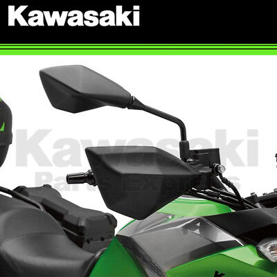 NEW 2017 - 2018 GENUINE KAWASAKI VERSYS X 300 PLASTIC HAND GUARD SHELL KIT, used for sale  Shipping to South Africa
