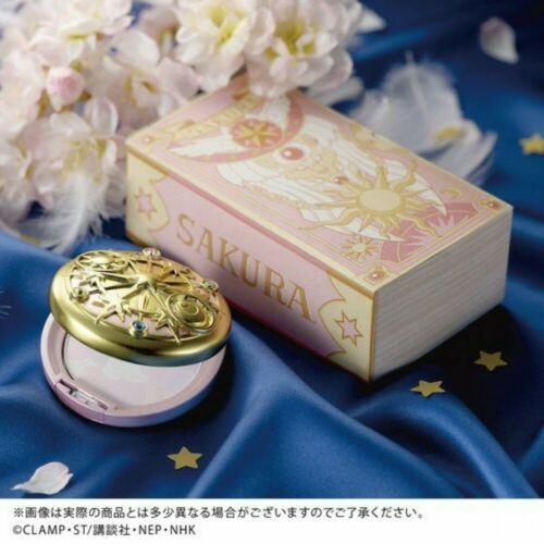 Premium Bandai Cardcaptor Sakura Magic Team Face Powder Cosmetics Japan Limited