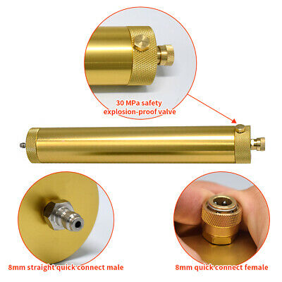 30mpa 4500psi Pcp Compressor Oil Water Separator Air Pump Filter 2x Cartridges