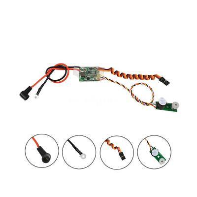 RC Methanol Engine Ignition RCD3007 Remote Heat Head Driver Glow Plug Y0O4