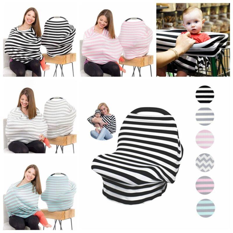Nursing Poncho Cover Up Baby Mum Breastfeeding Udder Covers Blanket Shawl