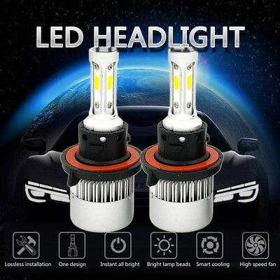 H13 Led Headlight Bulbs For Ford F150 2004 2014 High Low Beam 1300W 195000Lm Kit
