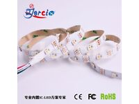 SK6812 5050 RGBW+WW Strip LED Lights SMD 30LED/M IC Individual Addressable DC 5v