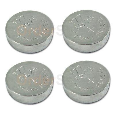 4 PACK Battery Button Watch 1.5V 376 377 AG4 V377 LR626 CR376 CR377 US Seller
