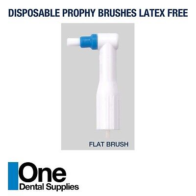 Dental Disposable Prophy Angles -flat Brushes 500 Pcs