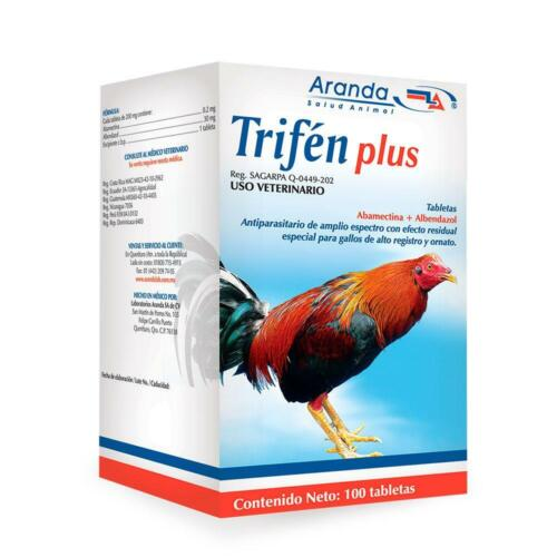 TRIFEN PLUS 100TAB roosters/GALLOS