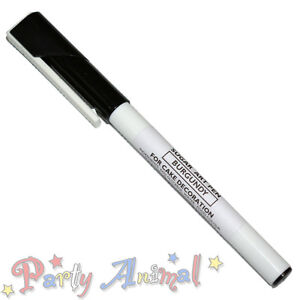 Sugarflair Edible Food Colour Pens - Sugarcraft Easy Cake Art Write Draw Icing