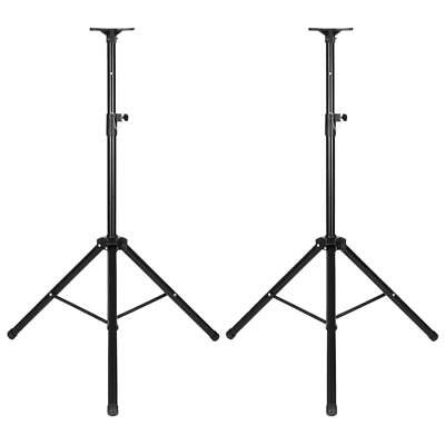 2X Pro Audio DJ Universal Pa Speaker Adjustable Tripod Pole