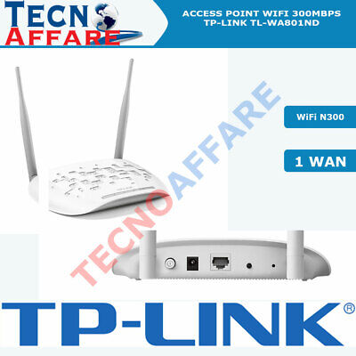 Access Point Wireless 300MBPs 2.4GHz 1 Porta WAN PoE passivo TP-LINK TL-WA801ND