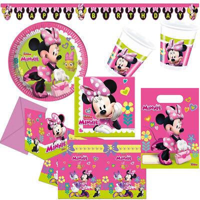 che Helfer Kindergeburtstag Minnie Maus Party Geburtstag NEU (Minnie Maus Party)