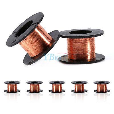 5pcs Magnet Soldering Copper Wire Reel Ppa Enamelled Repair Set 0.1mm X 15m New