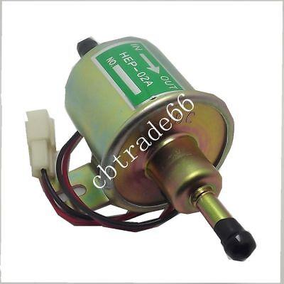 12v 1.4a New Universal Fuel Pump Gasoline Electric Oil Pump Metal B